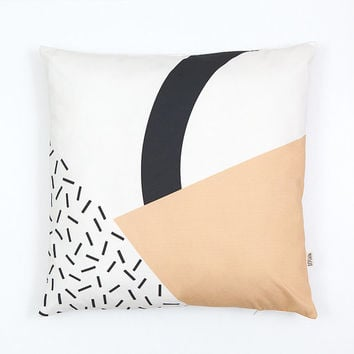 Memphis 3 Cushion Cover organic cotton twill