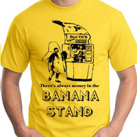 Small S there's always money in the BANANA STAND tee by Royalkane