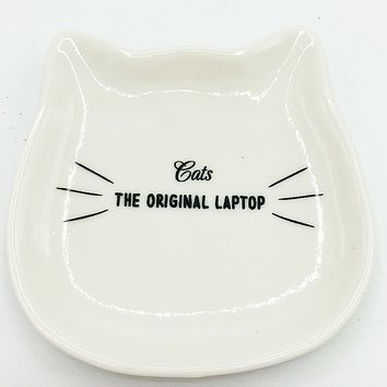 Cats the Original Laptop Trinket Dish