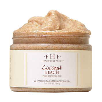 Farmhouse Fresh Coconut Beach Body Scrub - 12 oz.