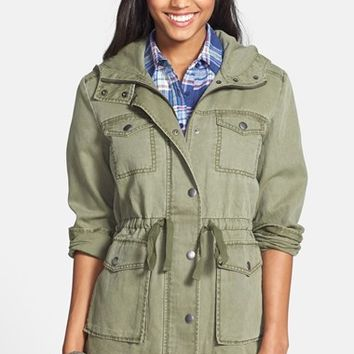 Junior Women's BP. Hooded Field Jacket