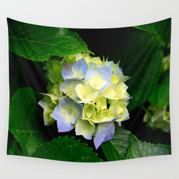 Hydrangea Wall Tapestry by Chris' Landscape Images & Designs