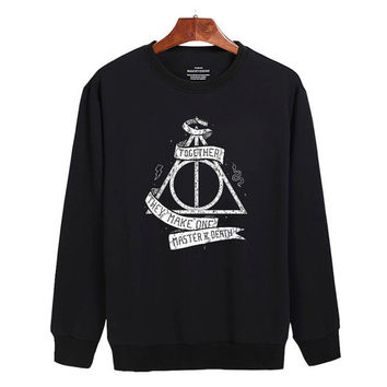 Harry Potter and the Deathly Hallows Sweater sweatshirt unisex adults size S-2XL