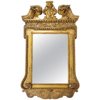 Exceptional George II Gilt Mirror in the Manner of William Kent, c. 1730