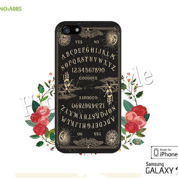Phone Cases, iPhone 5/5S Case, iPhone 5C Case, iPhone 4/4S Case, Ouija Board, S3 S4 S5 Note 2 Note 3-A085