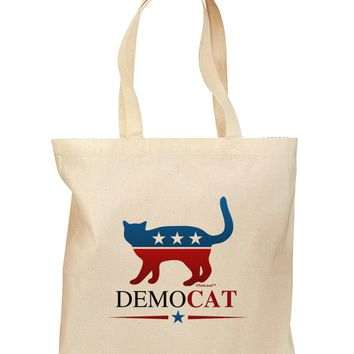 DemoCAT Grocery Tote Bag