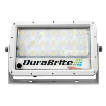 DuraBrite SLM Mini Flood Light - White Housing/White LEDs - 150W - 12/24V - 16,670 Lumens at 24V