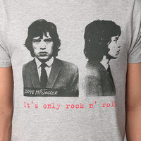 Urban Outfitters - Mick Jagger Only Rock And Roll Tee