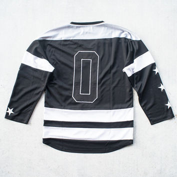 Courtesy Of - The Wayne Hockey Jersey Black