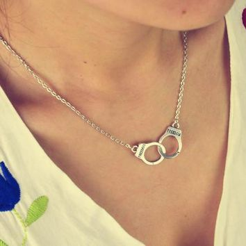 Handcuffs Necklace