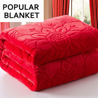 Flannel Fabric Soft Blanket