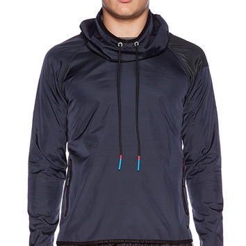 Brandblack Sith Hood Jacket in Navy