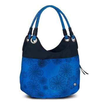 Haiku Women's Stroll Bucket Eco Shoulder Bag, Tie Dye Midnight