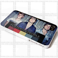 Foster The People - iPhone Case 4/4S, 5/5S, 5C and Samsung Galaxy S3, S4 Case.