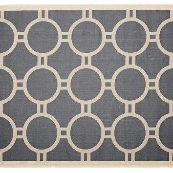 Marsha Outdoor Rug, Anthracite, Area Rugs