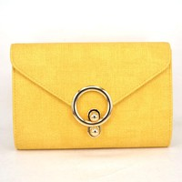 New Women Bag Over The Shoulder Female Purses And Handbags Evening Envelope Clutch Bag Valentine Women Handbag yellow Falp bag