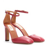 valentino - club on leather pumps