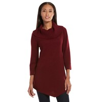 Sag Harbor Cowneck Tunic Sweater