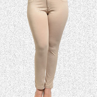 Khaki Boldly Beautiful Pants