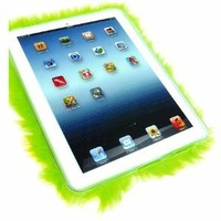 Furrywraps / LIME GREEN! Furry Ipad 2 and 3 Case. Soft, Fuzzy, Colorful and Fun Protection for Your Ipad