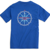 Southern Tide Due South Tee- Royal Blue