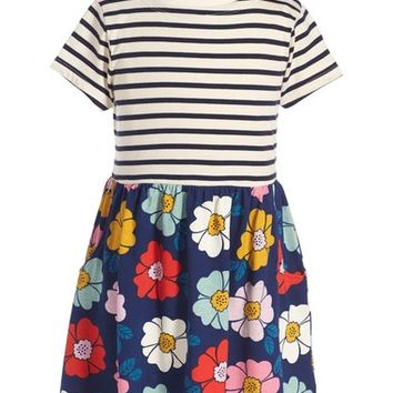 Mini Boden 'Hotchpotch' Jersey Dress (Toddler Girls, Little Girls & Big Girls) | Nordstrom