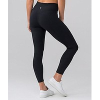 lululemon Pushing Limits 7/8 Tight Gym Yoga Running Pants Leggings