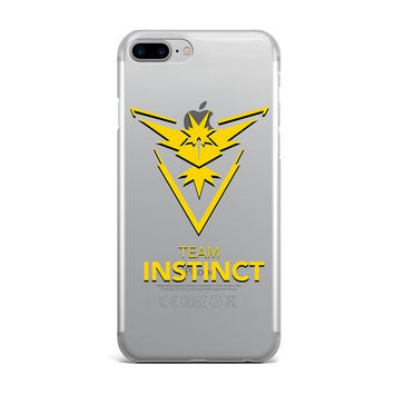 POKEMON GO TEAM INSTINCT YELLOW CUSTOM IPHONE CASE
