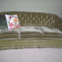 beautiful vintage couch..shabby chic