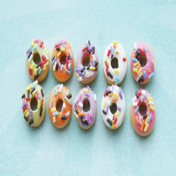 Sprinkle Donut Stud Earrings