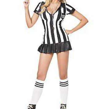 Sexy Adult Referee Costume