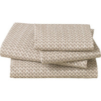 DwellStudio DwellStudio Painted Dot Sand King Sheet Set from Casa | BHG.com Shop