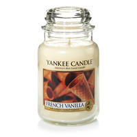 French Vanilla : Large Jar Candles : Yankee Candle