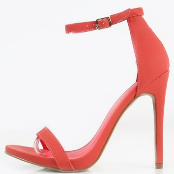 Shoe Republic LA Celine Single Sole Heels