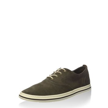 Timberland Mens Coles Point Plain Toe Oxford Olive 9.5 D(M) US '