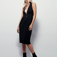 Free People Womens Frenchie Knit Dress