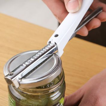 Stainless Steel Adjustable Can Bottle Jar Lid Opener