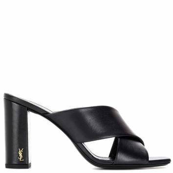 Loulou 95 leather mules