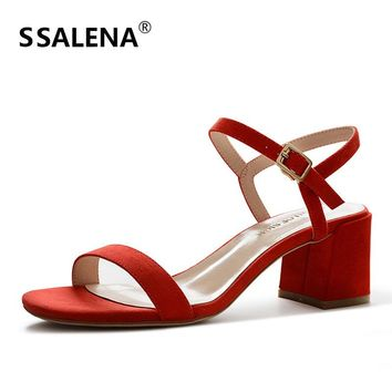 Women High Heel Pump Ladies Stylish Open Toe Platform Shoes Women Ankle Strap Fashion Wedding Shoes Hot Sale AA51652