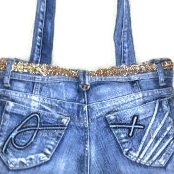 Oceans Denim Purse