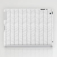 Herringbone iPad Case by Randoms