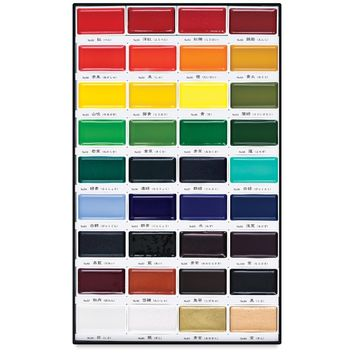 Kuretake Gansai Tambi Watercolor Sets - BLICK art materials
