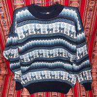 "Peruvian Design ""Wool / Alpaca Classic Sweater"". Super-Soft, Elegant and Warm ""Wool / Alpaca Classic Sweater"" for men"