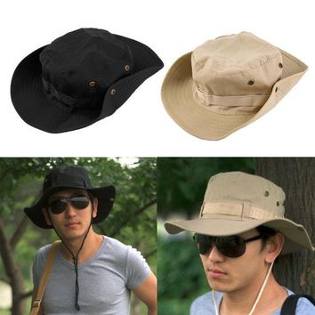 DCCKL72 Bucket Hat Boonie Hunting Fishing Outdoor Wide Cap Brim Military Unisex Perfect free shipping
