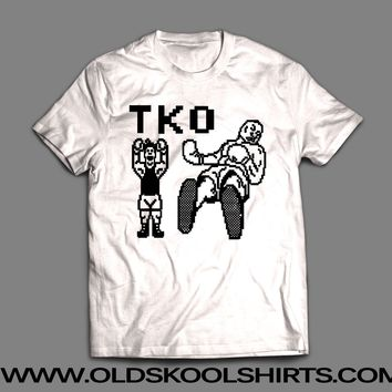 """MIKE TYSON'S PUNCH OUT """"TKO"""" T-SHIRT"""