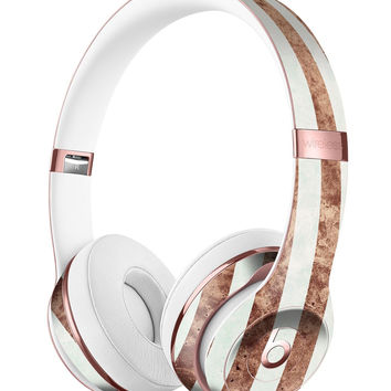 Grungy Mud Puddle Veritcal Stripes Full-Body Skin Kit for the Beats by Dre Solo 3 Wireless Headphones