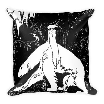 East of the Sun West of the Moon By Kay Nielsen Square Pillow