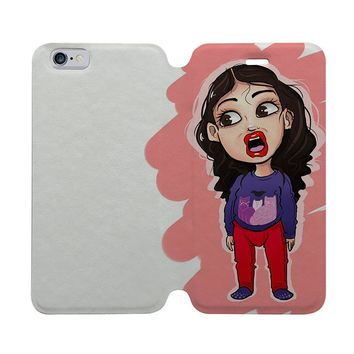 MIRANDA SINGS CARTOON Wallet Case for iPhone 4/4S 5/5S/SE 5C 6/6S Plus Samsung Galaxy S4 S5 S6 Edge Note 3 4 5