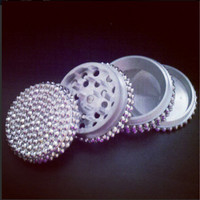 Metallic Embellishment Herb Grinder