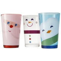 Snowman, Penguin and Santa Tumbler Set of 6